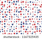 seamless pattern with red and... | Shutterstock .eps vector #1167325435