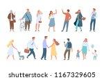 different people vector... | Shutterstock .eps vector #1167329605