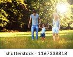 happy young couple spending... | Shutterstock . vector #1167338818