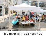 toronto  canada   august 4 ... | Shutterstock . vector #1167353488