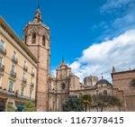 miguelete  the belfry tower of... | Shutterstock . vector #1167378415