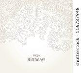 greeting card | Shutterstock . vector #116737948
