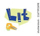 flat vector illustration of... | Shutterstock .eps vector #1167392698