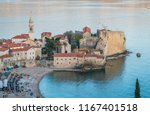 budva  montenegro   april 2018  ... | Shutterstock . vector #1167401518