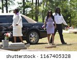 Small photo of Minden, La. USA June 30, 2018 Burial of JaNae Owens...a 17 year old who was shot due to a road rage altercation in Decatur, Georgia.