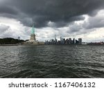 statue of liberty and harbor | Shutterstock . vector #1167406132