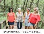 groupe of women sister together ... | Shutterstock . vector #1167415468