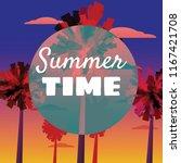 summer time at seashore  sea...   Shutterstock .eps vector #1167421708