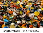 sideview colored stones indian... | Shutterstock . vector #1167421852