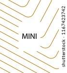 minimal vector cover. linear... | Shutterstock .eps vector #1167423742
