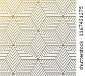 vector linear pattern. modern... | Shutterstock .eps vector #1167431275