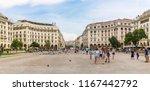 thessaloniki  greece   august... | Shutterstock . vector #1167442792