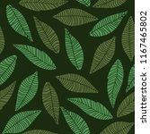 autumn theme seamless pattern... | Shutterstock .eps vector #1167465802