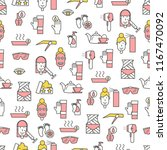 vector seamless pattern with... | Shutterstock .eps vector #1167470092