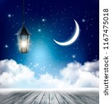night nature sky background... | Shutterstock .eps vector #1167475018