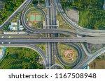 top view  aerial photos ... | Shutterstock . vector #1167508948