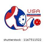 usa pickleball symbol | Shutterstock .eps vector #1167511522