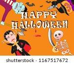 murder of terror done on the... | Shutterstock .eps vector #1167517672