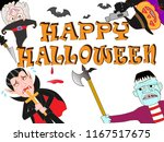 murder of terror done on the... | Shutterstock .eps vector #1167517675