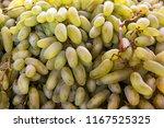 fresh green grape background as ...   Shutterstock . vector #1167525325
