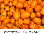 fresh yellow orange tomato...   Shutterstock . vector #1167525328