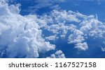 aerial view of clouds formation ... | Shutterstock . vector #1167527158