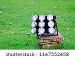 close up of led spotlights in... | Shutterstock . vector #1167552658