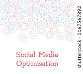 social media icons. social... | Shutterstock .eps vector #1167567892