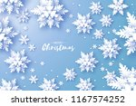 merry christmas and happy new... | Shutterstock .eps vector #1167574252