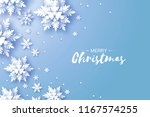 merry christmas and happy new... | Shutterstock .eps vector #1167574255