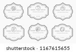 customizable black and white... | Shutterstock .eps vector #1167615655