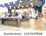 coffee shop blur background | Shutterstock . vector #1167639838