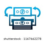 foreign exchange trade money... | Shutterstock .eps vector #1167662278