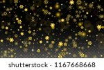 new year vector background with ... | Shutterstock .eps vector #1167668668