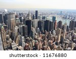 panoramic view of the new york... | Shutterstock . vector #11676880