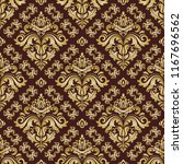 classic seamless vector pattern.... | Shutterstock .eps vector #1167696562