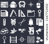 set of 25 icons such as open...