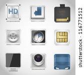 universal web vector icons   Shutterstock .eps vector #116771512
