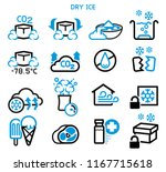 general icon of dry ice.... | Shutterstock .eps vector #1167715618