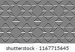 seamless pattern with striped... | Shutterstock .eps vector #1167715645