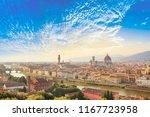 beautiful view of santa maria... | Shutterstock . vector #1167723958