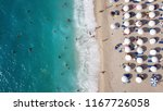 aerial top view photo of sun... | Shutterstock . vector #1167726058