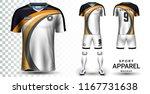 soccer jersey and football kit... | Shutterstock .eps vector #1167731638
