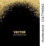 sparkling glitter border  frame.... | Shutterstock .eps vector #1167746062