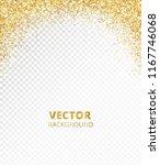 sparkling glitter border  frame.... | Shutterstock .eps vector #1167746068