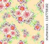 abstract elegance seamless... | Shutterstock .eps vector #1167758182