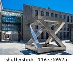 art installation in centre of... | Shutterstock . vector #1167759625