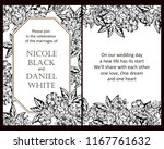vintage delicate greeting... | Shutterstock .eps vector #1167761632