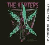 the hunter illustration   Shutterstock .eps vector #1167790198
