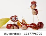 funny chestnut tinker man with...   Shutterstock . vector #1167796702